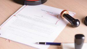 jak napisać testament