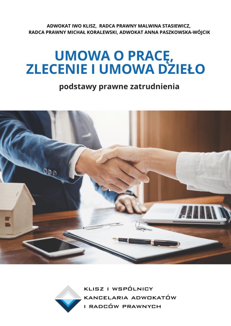 Umowa o prace, zlecenie, dzieło - e-book