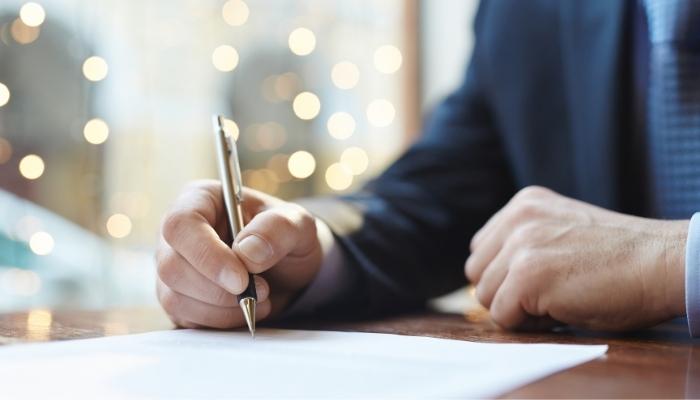 Zawieranie umów przy pomocy wzorca
